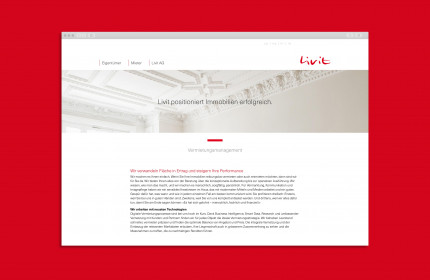 Website Livit Real Estate Management